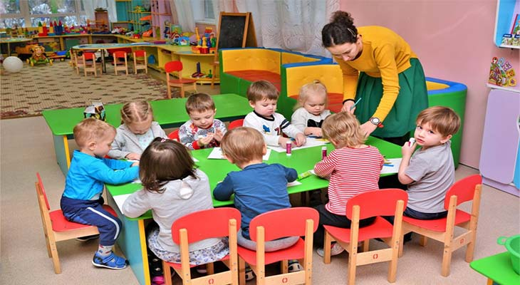 Организация детского домашнего сада