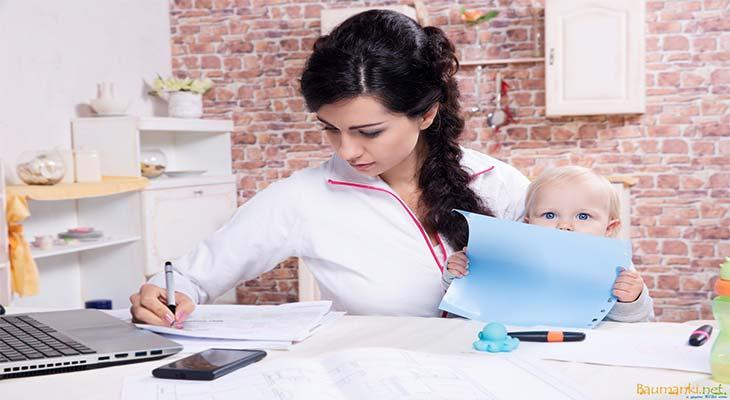Работа для мам в декрете: реальные способы заработка