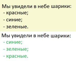 Пример написания рерайта