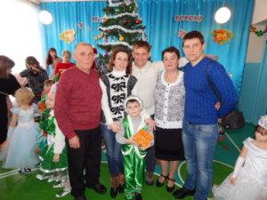 папа, невестка, брат, мама, я и мой маленький племянник
