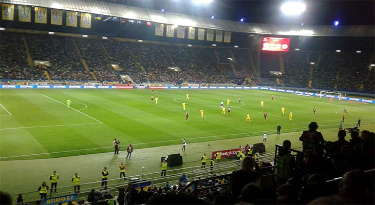 Моя поездка на матч сборных Украины и Турции