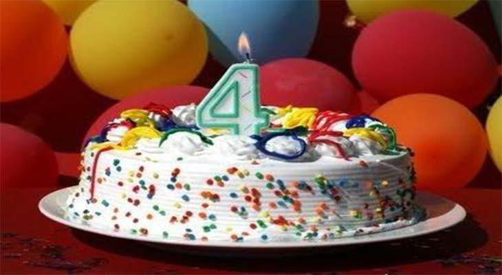 С Днем Рождения Conicheva84.ru – тебе сегодня 4 года!