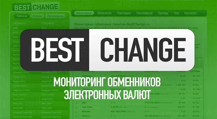 BestChange.ru: мониторинг обменных пунктов. Мой отзыв