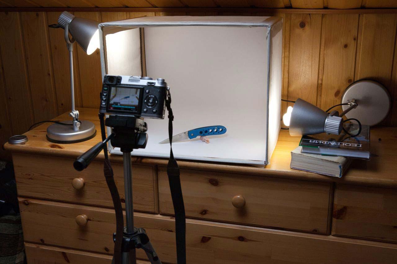 механическое свет для предметной фотосъемки в домашних условиях непростым