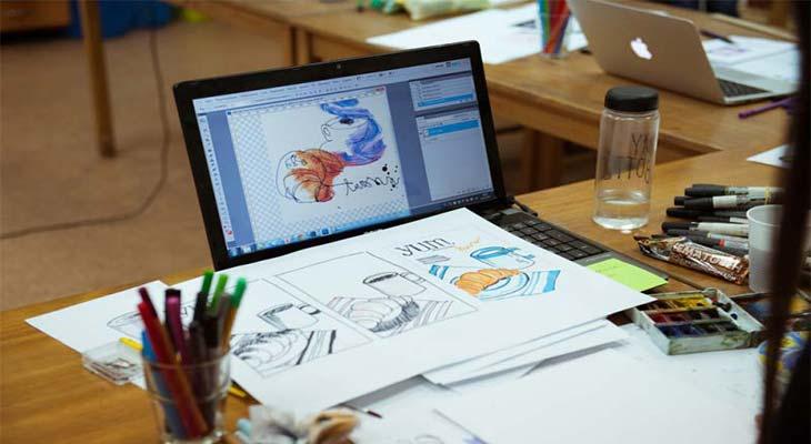 Как стать графическим дизайнером с нуля самостоятельно: 5 простых шагов