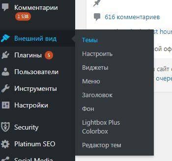 Установка WordPress и другие возможности для веб-мастера