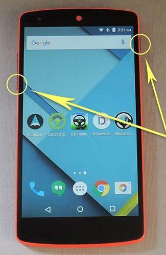 Делаем скриншоты на Андроид