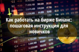 Как работать на бирже Бинанс: простая инструкция для начинающих